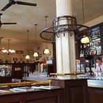 Fantastic Belgium restaurant and bar.