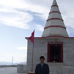 Temple  wiew of  Kali Ka Tiba ( Highest Point of Chail )