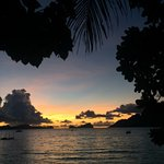 Sunset at Maremegmeg Beach