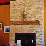 Fire place with HUGE STEIN