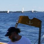 Capt. Aron sailing the Olad