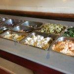 Excellent salad bar!