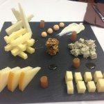 Surtido de quesos asturianos.