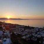 Bedre solnedgang fåes ikke , selv ikke i Chania havn