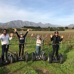 Segway tour in a winery!