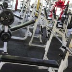 Precor flat incline and decline benches