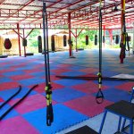 Muay Thai training area