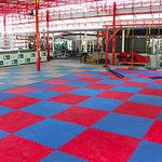 TRX Battle Rope Rope Climb Full Size Muay Thai Ring