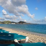 Hotel's beach access