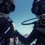 Natürlich durfte das Selfi unter Wasser nicht fehlen :)