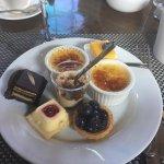 Desserts at Crop Bistro's Sunday Brunch! Yum!!