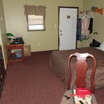 Sorry I didn't take the picture when we first got there but pretty much regular room on the firs