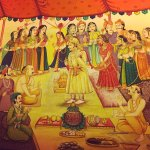 Indian Wedding Painting.