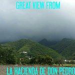 Enjoy the scenery at Hacienda Don Pedro