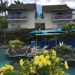 A.stunning hotel in beautiful grounds overlooking the beach,