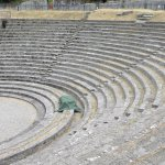 Roman amphitheater in nearby Fiesole