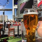 Cold beer on a hot day on the LV Strip
