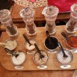 Choix des sels