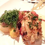 Absinthe Butter Basted Lobster Tail