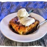 Drunked bread pudding
