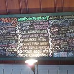 The beer list!