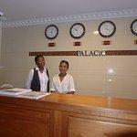 Nice staff: Oneka & Rochelle