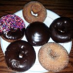 a selection of donuts