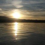 Sunrise fishing Lake Havasu