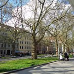 Hauptstrasse late Sunday Afternoon