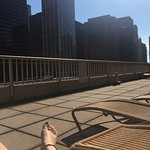 Sun Deck with view of Chicago River