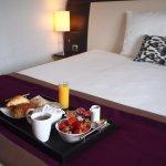 Petit déjeuner - room service