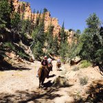 Riding into Red Rock Canyon