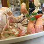 Fresh and delicious prawns