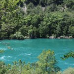 Hiking along the trails of Whirlpool State Park
