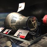 Gemini capsule replica.