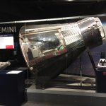 Another view of the Gemini Capsule.