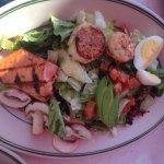 1/2 the seafood cobb salad