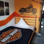 Harley-Zimmer im Altbau
