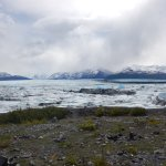 View from the Beach across from Knik Glacier
