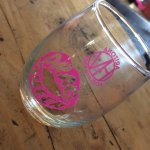 Official drag queen wine glass