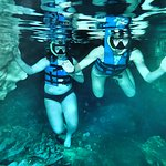In the first cenote