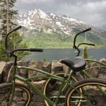 Bikes for your use to ride around Jenny Lake