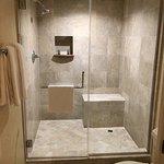 Gigantic shower!!