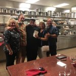 We were fortunate enough to enjoy the chefs table!  Worth every penny and it's a meal I will nev
