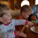 The kids loved the cinnamon rolls, too! And they were huge, lasted us for 3 breakfasts.