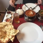 madras+ saag ghosh - both very yummi
