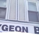 The Bobcaygeon Bakery Sign (edited myself out of the selfie)
