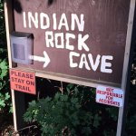 Indian Rock Cave was a great .8 miles hike, caves, cliffs, not handicap accessible.
