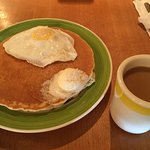 Pancake Sandwich: looks simple, but very tasty inside with delicious ham.