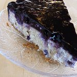 Blueberry cheez cake (made with tofu)